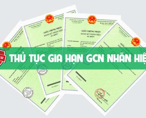 Gia hạn giấy chứng nhận nhãn hiệu