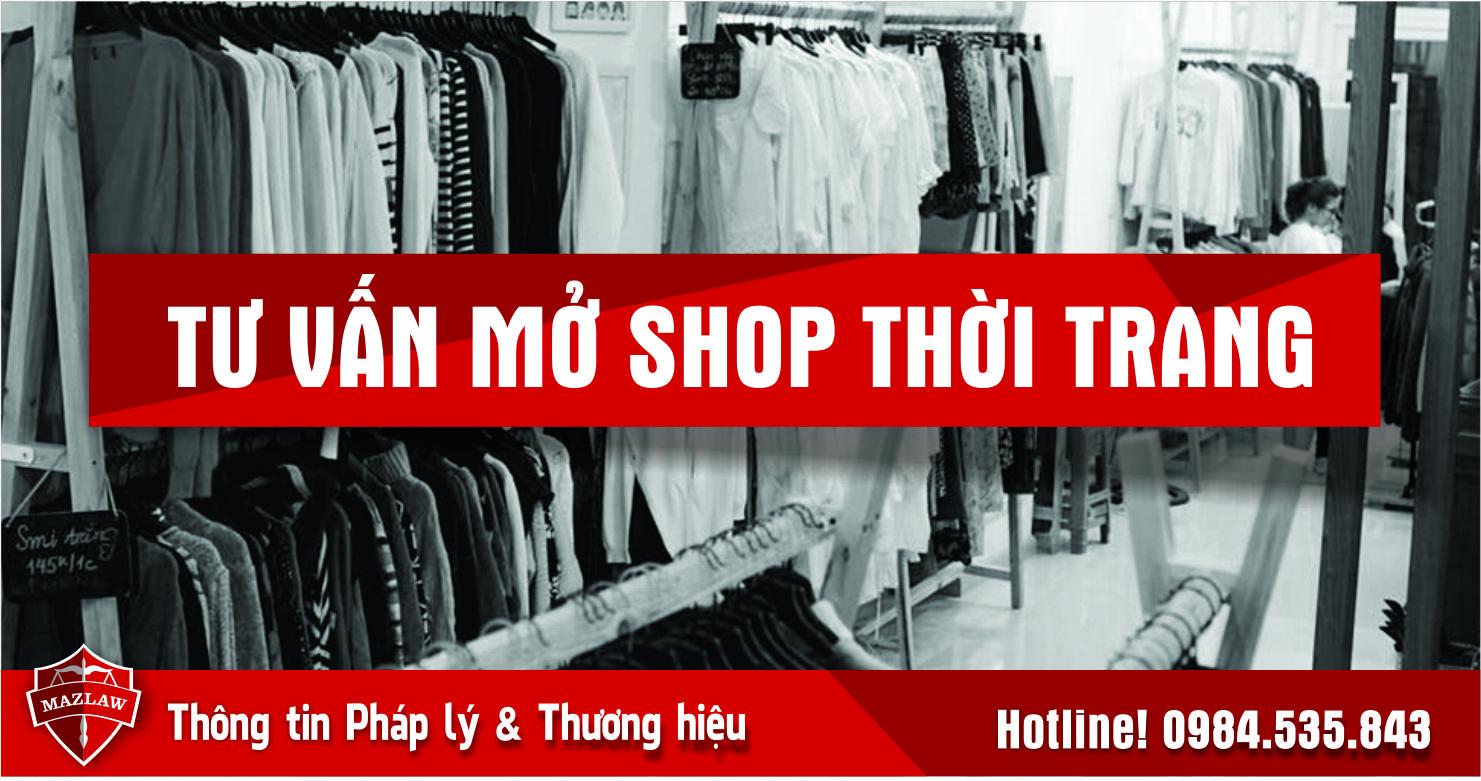 Tư vấn mở shop thời trang